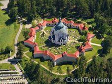 Church of St. John of Nepomuk at Zelená Hora, photo: CzechTourism