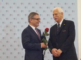 Paul Millar (right), photo: Czech Radio - Radio Prague