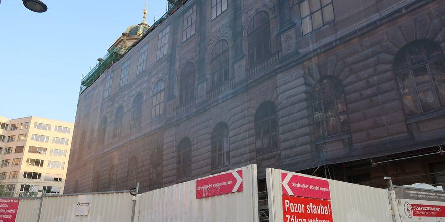 Národní muzeum nyní prochází rekonstrukcí, ale v říjnu bude opět otevřeno, foto: Lenka Žižková