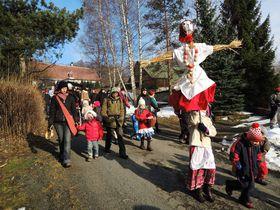 Ahogando a Morana, foto: Jana Beranová, ČRo