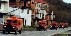 Auslandsmission im Kosovo (Foto: OSCE Snatch Kosovo, Public Domain)