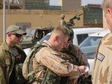 Чешские военнослужащие в Мали, Фото: Ян Шулц, Архив Армии ЧР