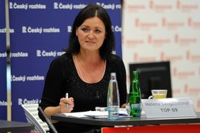 Helena Langšádlová (Foto: Filip Jandourek, Archiv des Tschechischen Rundfunks)
