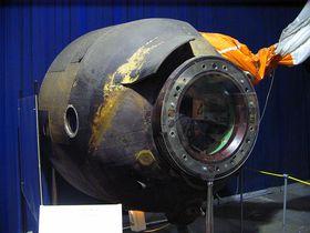 Космический модуль посадки «Союз-28», фото: Oldsoft открытый источник