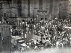 Proteste in Pilsen 1953 (Foto: Archiv des Staatlichen Bezirksarchivs Pilsen)