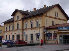 Bahnhof Tábor (Foto: Miloš Turek)