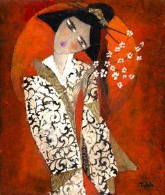 Tylek, 'Sakura', photo: Galerie La Femme