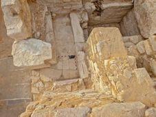 Le tombeau de la reine Khentkaous III à Abousir, photo: Martin Frouz / Institut d'égyptologie tchèque FF UK