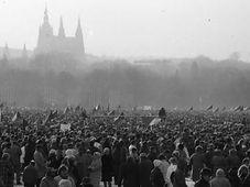 Ноябрь 1989, Фото: Душан Боушка