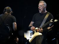 Robert Trujillo, James Hetfield, photo: CTK