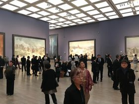Slav Epic exhibition opening in National Art Center Tokio, photo: archive of Czech Ministry of Culture