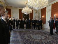 Le nouveau gouvernement d'Andrej Babiš, photo: ČTK
