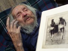 Miroslav Tichý, photo: CTK