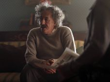 Geoffrey Rush as Albert Einstein, photo: National Geographic