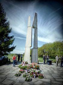 Le mémorial à Slivice, photo: Michal Ritter, CC BY-SA 3.0 Unported