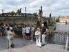 Туристы в Праге, фото: Ондржей Томшу