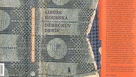 Repro zknihy Dědečkův deník, autor: Libuše Koubská, nakladatelství Vyšehrad