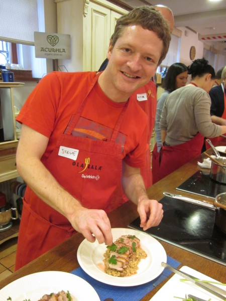 Steve Jack – Attending the wonderful cookery school at Ola Kala in Prague... and discovering that - yes - I can cook!