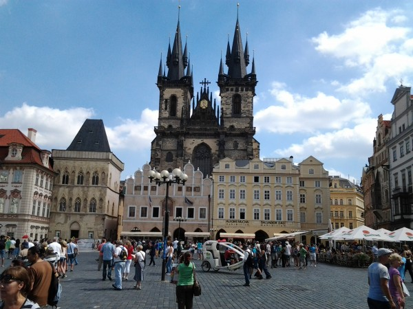 Dennis Street – Summer vacation visit to Prague. Old Town is one of our favorite areas of the city.