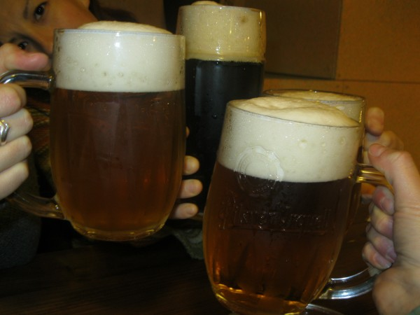 Reka Ferencz – My Czech story briefly: Four girls went to discover Prague's cultural life ... and this was the best beer trip ever! :-)