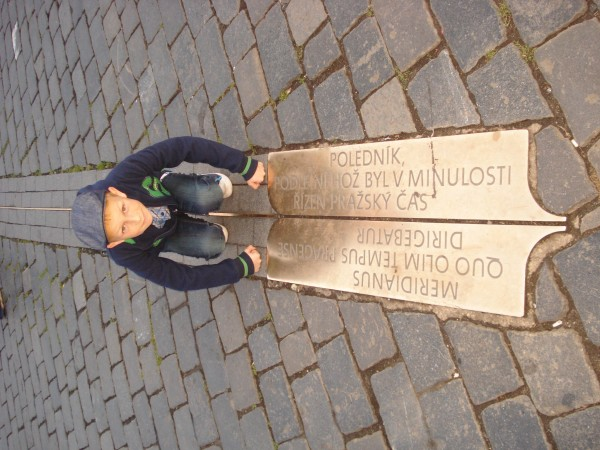Jaroslaw Jedrzejczak – My son and geography lesson in Prague.