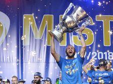 Le Viktoria Plzeň est le nouveau champion de République tchèque de football, photo: Miroslav Chaloupka / ČTK