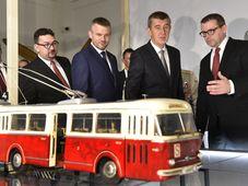 Michal Lukeš, Peter Pellegrini, Andrej Babiš (v.l.n.r. Foto: ČTK)