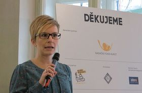 Bohdana Rambousková, photo: Kristýna Maková, Czech Radio - Radio Prague