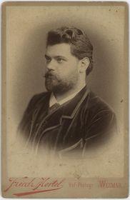 Retrato Karel Halíř, foto: Archivo Eduardo García Salas