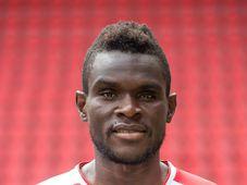 Michael Ngadeu, photo: Site officiel du Slavia Prague
