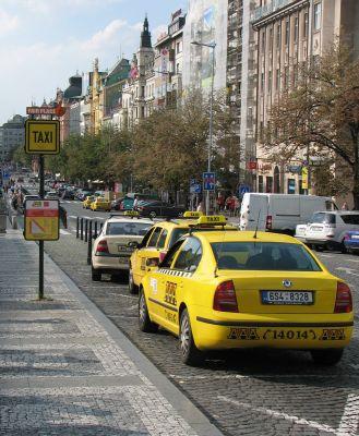 Praha taxi cena