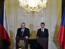 Miloš Zeman und Andrej Babiš (Foto: ČTK)