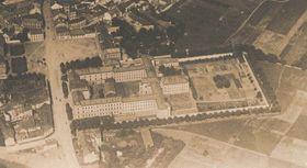 Das Areal des Justizpalastes aus Vogelperspektive