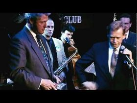 Bill Clinton and Vaclav Havel at a Prague jazz club, photo: YouTube