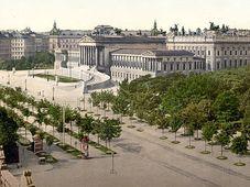 Здание Рейхсрата, конец 19-го века, Фото: открытый источник