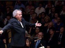Serge Baudo, photo: Petr Dyrc / Site officiel de l'Orchestre symphonique de Prague FOK