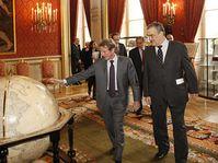 Bernard Kouchner et Karel Schwarzenberg, photo: F. de La Mure, Ministère des Affaires étrangères et européennes