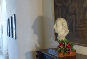Giacomo Casanova's bust, photo: Klára Stejskalová