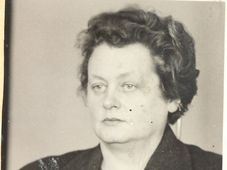 Milena Jesenská en 1940, photo: Archives de bureau de sécurité