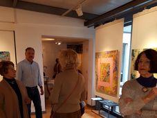 Vernissage in der Galerie Goller (Foto: Maria Hammerich-Maier)