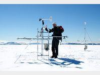 La station météorologique de l'Université Masaryk en Antarctique, photo: ČTK