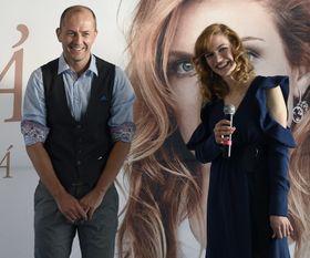 Мартин Моравец (автор книги) и Габриэла Коукалова, фото: ЧТК