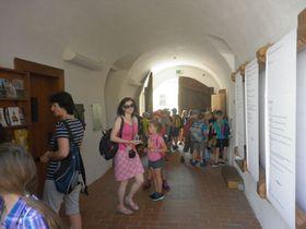 Pro školy je návštěva Centra mistra Jana Husa vítaným zpestřením učiva dějepisu, foto: Zdeňka Kuchyňová