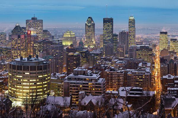 Montréal, photo: David Iliff, CC BY-SA 3.0