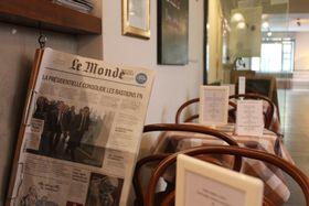 Café 35 im Institut Francais (Foto: Stefan Welzel)