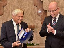 Jiří Brady and Bohuslav Sobotka, photo: ČTK