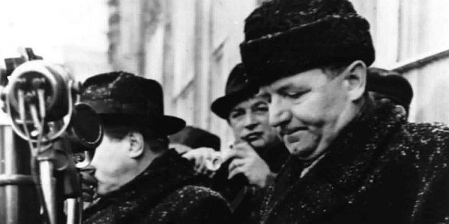 Klement Gottwald, photo: archive of Czech Radio