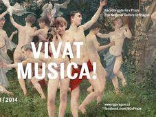 Foto: Póster de la exposición 'Vivat Música!', Galería Nacional