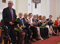 Quatorze personnalités et institutions ont été récompensées par le ministère des Affaires étrangères, pour avoir contribué à la bonne renommée de la République tchèque dans le monde, photo: Ondřej Tomšů
