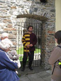 Vladimír Velešík, guide au château de Svojanov, photo: Denisa Tomanová